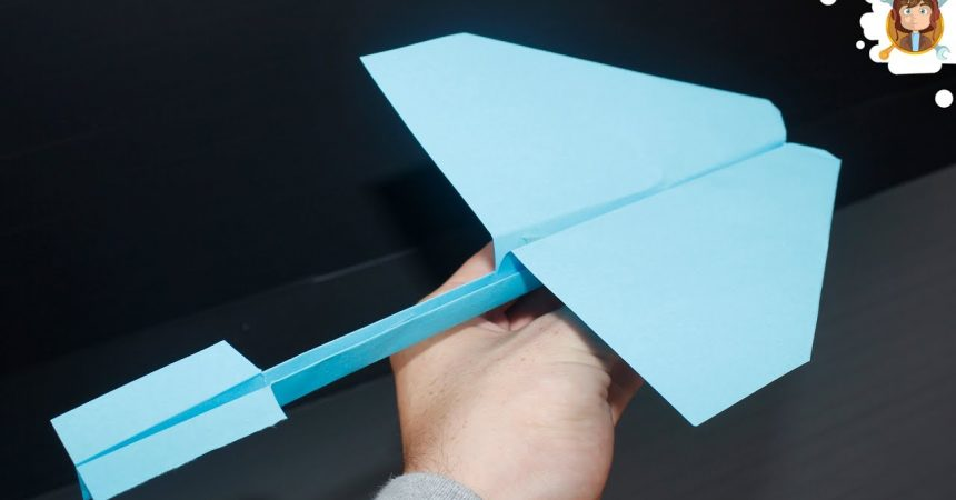 Making a Tricky Paper Glider That Flies Long – Technology Blog